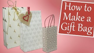 How To Make A Gift Bag (Easy DIY)