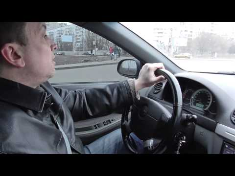Шевроле Лачетти (Chevrolet Lacetti) тест драйв .