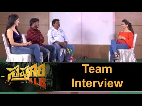 Sapthigiri LLB Movie Team Interview