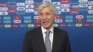 Jose PEKERMAN – Colombia - Final Draw Reaction