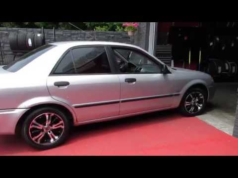 HILLYARD RIM LIONS 2000 MAZDA PROTEGE WITH 15 INCH MACHINED WHEELS & TIRES