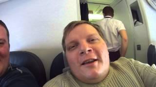 Как мы летели в самолете в Москву