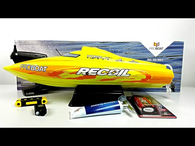 Proboat Recoil 26 RC Boat - Unboxing - Review - Onboard HD Camera!