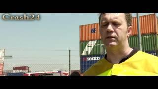 preview picture of video 'Gefahrgutunfall im Hafen von Germersheim am 24.05.2012'