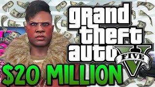 GTA 5 - Winning The Lottery - $20,000,000 Spending Spree (GTA 5 Funny Moments)