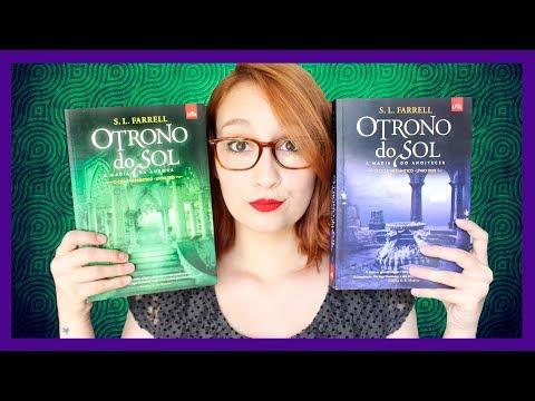 O Trono do Sol: A Magia do Anoitecer & A Magia da Aurora (S.L. Farrell)| Resenhando Sonhos