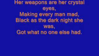 shocking blue venus lyrics on screen 100%correct