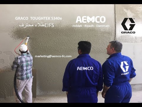 Graco Toughtek Cementitious Waterproofing Sprayer