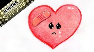 Como Dibujar Un Corazón Roto Free Video Search Site Findclip