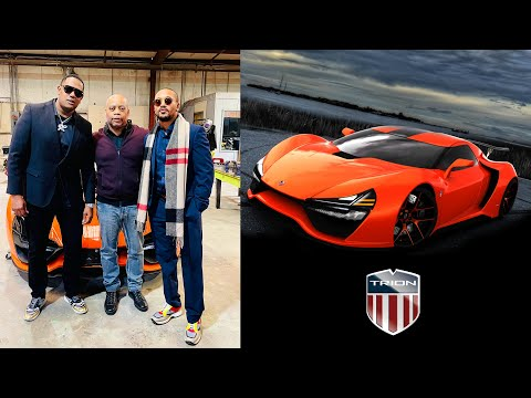 MASTER P, ROMEO & JAMES LINDSAY PARTNER UP WITH RICHARD PATTERSON OF TRION SUPERCARS