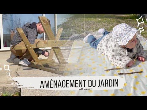 ON AMÉNAGE LE JARDIN - VLOG