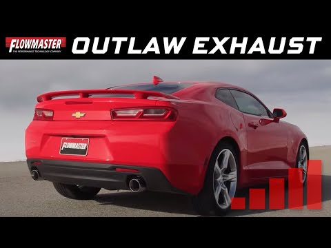 2016-19 Camaro SS 6.2L - Outlaw Axle-back Exhaust System 817745