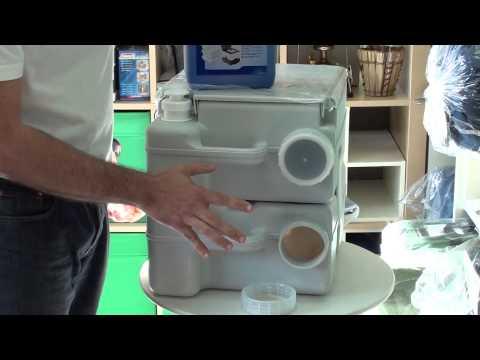 Campingaz: Como usar el liquido sanitario Instablue en WC portátiles.