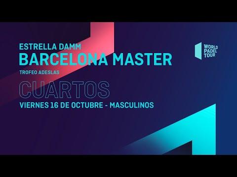 Cuartos de final Masculinos -Estrella Damm Barcelona Master2020- World Padel Tour HD Mp4 3GP Video and MP3