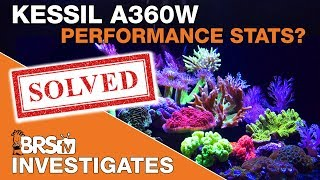 BRStv Investigates: Is the Kessil A360 Tuna Blue the best LED light for reef tanks?
