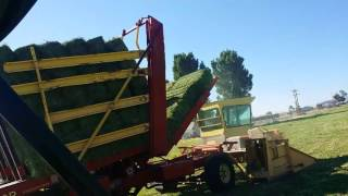 Mil-Stak SP/3000 Large Bale Stacker - Most Popular Videos