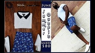 $100 Outfit Challenge Men | Summer Time