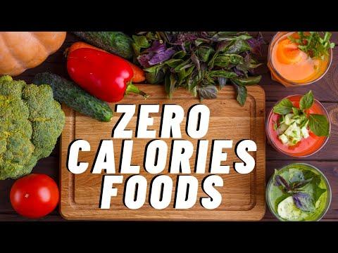 26 foods that contain almost zero calories