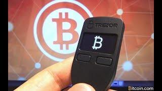 Anspruchsbewerb Bitcoin Forks Trezor