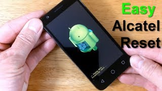 Unlock Android phone Alcatel Reset - How to Reset Alcatel Phone to factory settings - - Easy