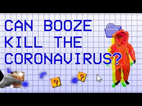 Does Alcohol Kill The Coronavirus?