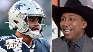 Stephen A. is overjoyed with the Cowboys