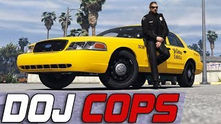 Dept. of Justice Cops #644 - Taxi Takedowns