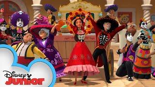 Dia de los Muertos ☠️  | Hispanic Heritage Month | Elena of Avalor | Disney Junior