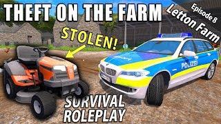 THEFT! | Survival Roleplay | Farming Simulator 17 - Letton Farm - Ep 8