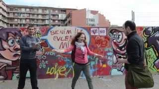 Como proponer matrimonio a una mujer original con graffiti