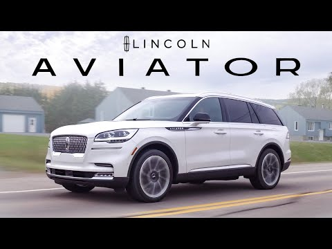 External Review Video wb1UYAIwdFM for Lincoln Aviator & Aviator Grand Touring Crossover SUV (2nd gen)