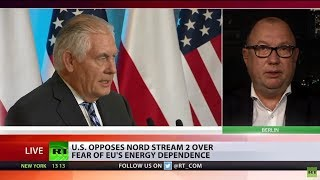 US Oposes Nord Stream 2 As Russia Could Steal It As A Tool – Tillerson