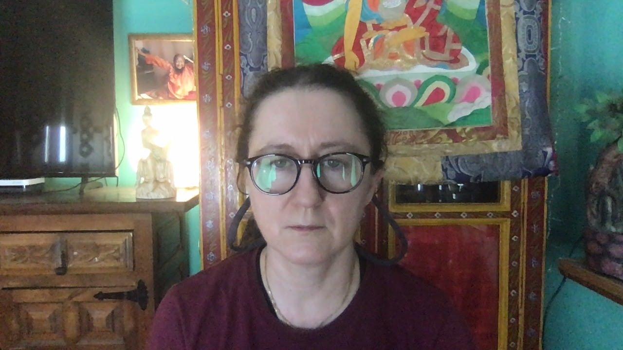 Lama Gangchen Tantric Self-Healing 2- Commentary by Lama Caroline - part 71 (EN)  Vairochana