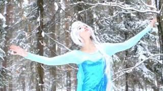 """Песня Эльзы """"Холодное сердце""""; Новый год 2017 Frozen"""