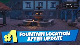 Fortnite Fountain Location After Update - Spray And Pray Challenges (Not Mega Mall)