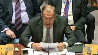 С.Лавров на заседании СБ ООН по Афганистану и Центральной Азии
