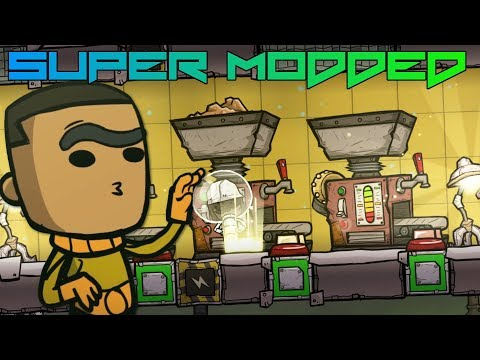 I Automated Metal Refiners With Surge Tank! Super Modded Oxygen Not Included EP6