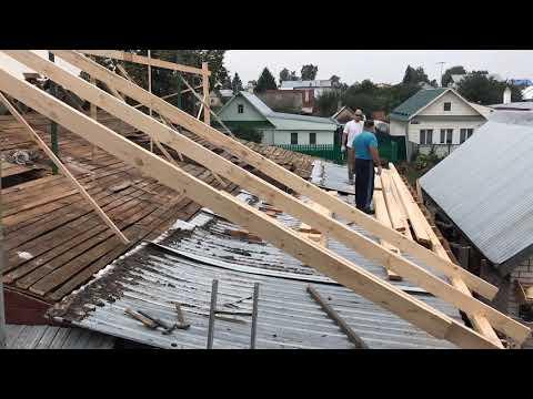 Замена старой крыши на новую за 4 дня