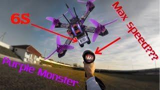 Purple Monster замер максимальной скорости на 4-5-6S.Этот монстр съел мне мозГ !!! фото