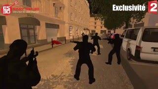 Terrorist Attack at Bataclan , in Saint-Denis - FRANCE - 2015/11/13 - EASY SIM 3D®