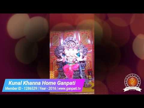 Kunal Khanna Home Ganpati Decoration Video