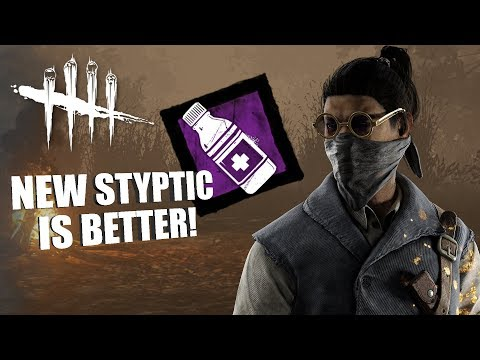 NEW STYPTIC IS BETTER! | Dead By Daylight LEGACY SURVIVOR GAMEPLAY
