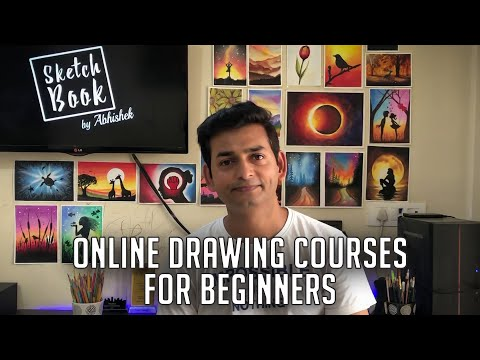 Online Drawing Courses  for Beginners | Drawing Class for Beginners