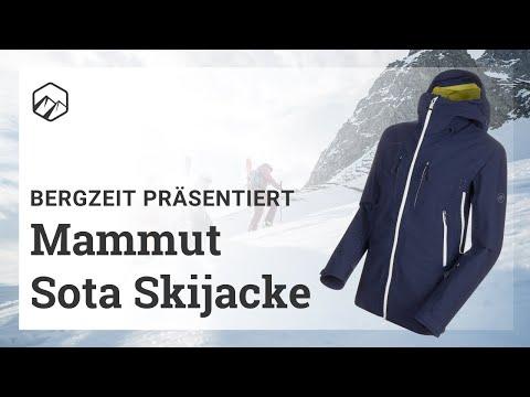 Mammut Sota Skijacke: 3-Lagen Jacke aus Stretch | Bergzeit