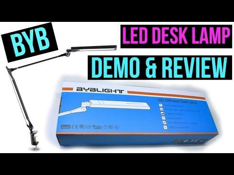 💡BYB LED DIFFUSION DESK LAMP DEMO & REVIEW💡NAIL TECH/READING/CRAFTS