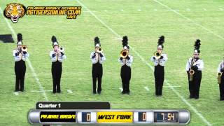 Prairie Grove (50) vs West Fork (0) 2015
