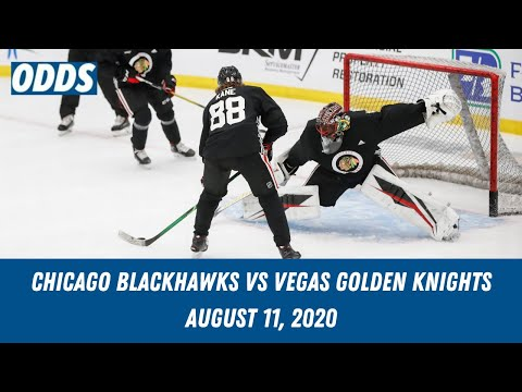 Chicago Blackhawks vs  Vegas Golden Knights Pick | Free NHL Picks and Predictions | August 11, 2020
