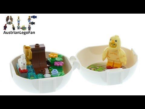 Vidéo LEGO Saisonnier 853958 : Easter Skater Chicken (Polybag)