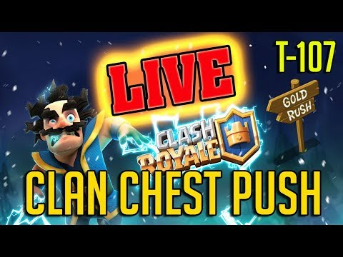Clan Chest Push | Clash Royale | let's get 10/10