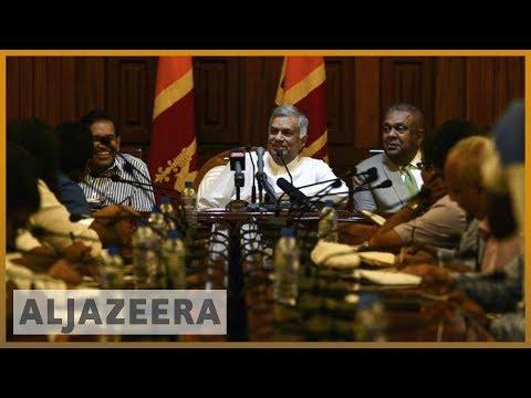 🇱🇰Sri Lanka parliament 'votes against newly appointed PM Rajapaksa' l Al Jazeera English